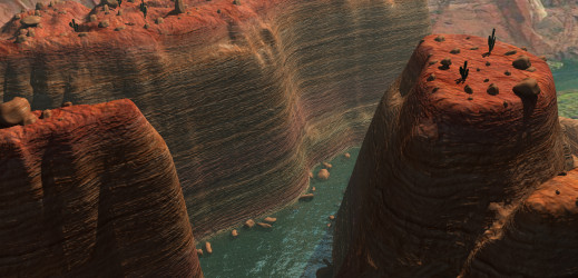 Le Canyon – Mapping